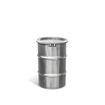 Open-Head UN Rated Stainless Steel Drum