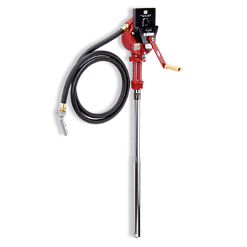 Fill-Rite Cast Iron Reversible Action Rotary Hand Drum Pump with Counter