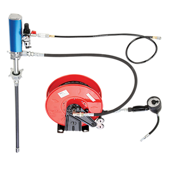 Zee Line Air-Operated Metered Oil Drum Pump System