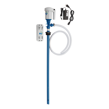 FTI Lithium Battery-Operated Drum Pump System with EFP Pick-Up Tube