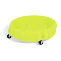 PIG® Poly High-Visibility Spill Drum Dolly
