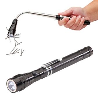 Magnetic Pickup Flashlight