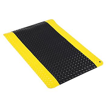 Industrial Deck-Plate Anti-Fatigue Mat 2' x 3'
