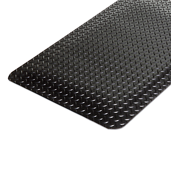 Workers-Delight™ Deck Plate Anti-Fatigue Mat Custom 4' Roll