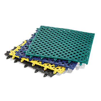 Notrax® Lok-Tyle™ Modular Draining Anti-Fatigue Mat