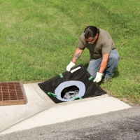 PIG® Adjustable Frame Storm Drain Filter
