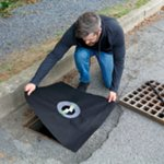 PIG® Frameless Storm Drain Filter for Small Drains