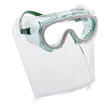 MonoShield™ Goggle with Faceshield