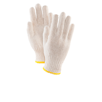 Uncoated Cotton/Poly String Knit Gloves