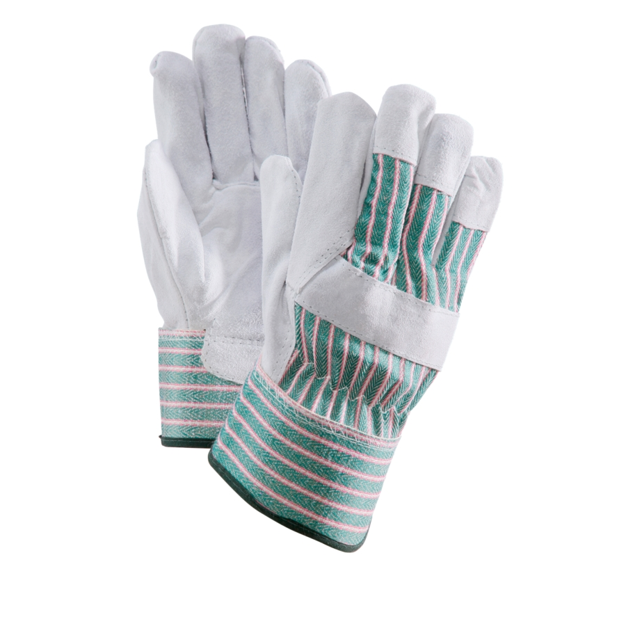Goat leather work gloves - Glv442value Series Leather Palm Gloves