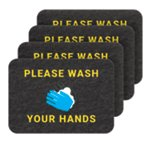 PIG® Wash Your Hands Floor Sign - Box of 4