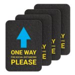 PIG® One-Way Directional Arrow Floor Sign & Marker - Box of 4
