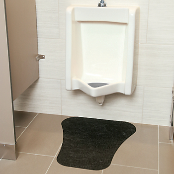 PIG® Urinal Mat with Adhesive Backing - Large