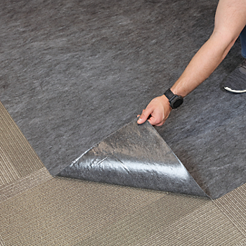 PIG® Carpet Protection Floor Runner with Adhesive Backing