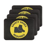 PIG® Safety Shoes Required Safety Message Mat