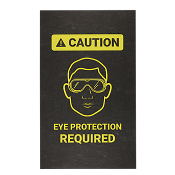 PIG® Eye Protection Required Safety Message Mat