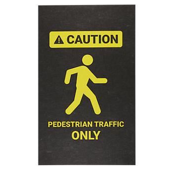 PIG® Pedestrian Traffic Only Safety Message Mat
