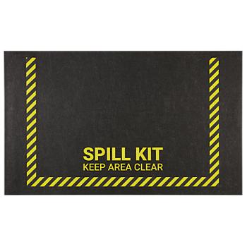 PIG® Spill Station Safety Message Mat