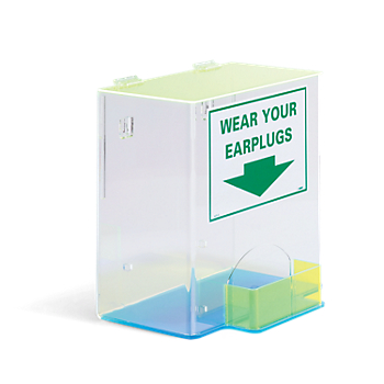 Acrylic Ear Plug Dispenser