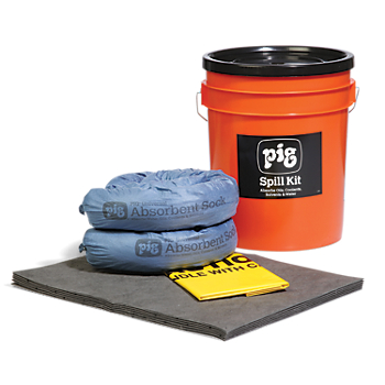 PIG® Spill Kit in High-Visibility Bucket