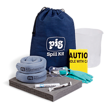 PIG® Spill Kit in Denim Duffel Bag