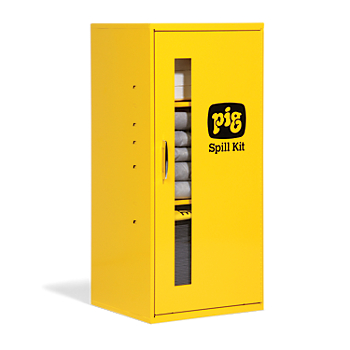 PIG® Spill Kit in Small Wall-Mount Cabinet