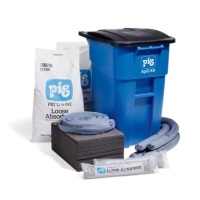 PIG® Spill Kit in Large Mobile Container