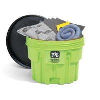 PIG® Spill Kit in 20-Gallon High-Visibility Container