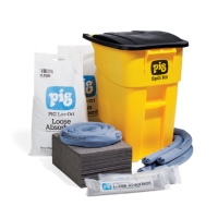 PIG® Spill Kit in High-Visibility Mobile Container