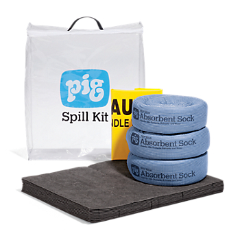 PIG® Spill Kit in See-Thru Bag