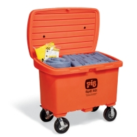 PIG® Spill Kit in High-Visibility Storage Chest