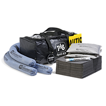PIG® Spill Kit in a Clear-Top Duffel Bag