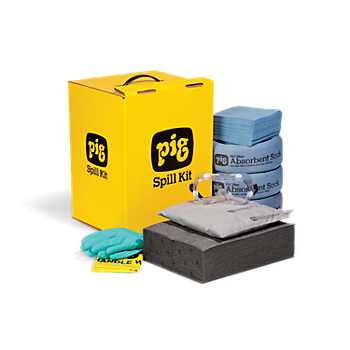 PIG® Spill Kit in GoBox® Cabinet
