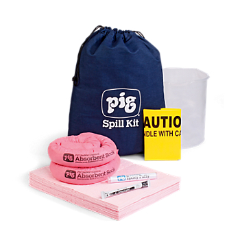 PIG® HazMat Spill Kit in Denim Duffel Bag