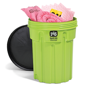 PIG® HazMat Spill Kit in 30-Gallon High-Visibility Container