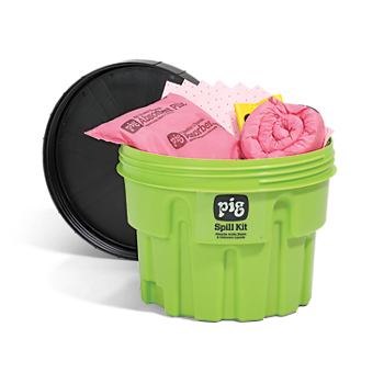 PIG® HazMat Spill Kit in 20-Gallon High-Visibility Container