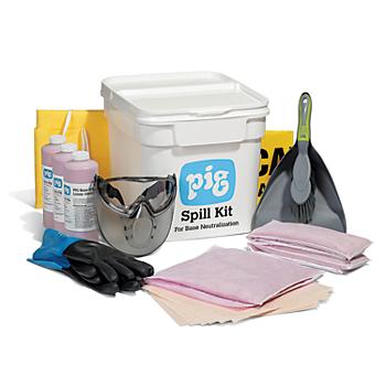 PIG® Acid Neutralizing Spill Kit in Bucket