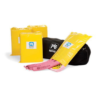 PIG® HazMat Economy Spill Kits in Duffel Bag