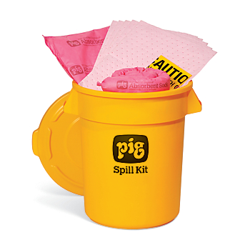PIG® HazMat Spill Kit in 20-Gallon High-Visibility Economy Container