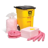 PIG® HazMat Spill Kit in High-Visibility Mobile Container