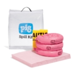 PIG® HazMat Spill Kit in See-Thru Bag