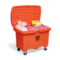 PIG® HazMat Spill Kit in High-Visibility Storage Chest