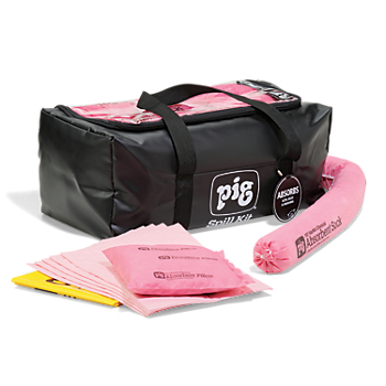 PIG® HazMat Spill Kit in a Clear-Top Duffel Bag