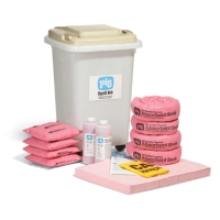 PIG® HazMat Spill Kit in See-Thru Container