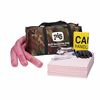 PIG® HazMat Spill Kit in Camo Duffel Bag