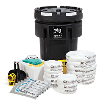 PIG® Fuel Station Spill Kit in Overpack