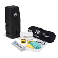 PIG® Fuel Station Spill Kit in Wall-Mount Cabinet