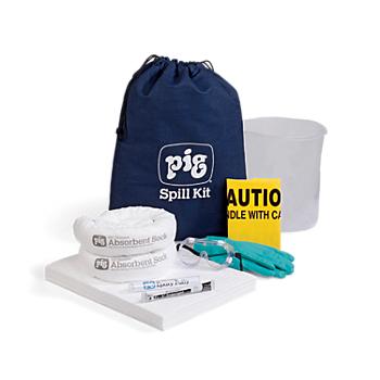 PIG® Oil-Only Spill Kit in Denim Duffel Bag
