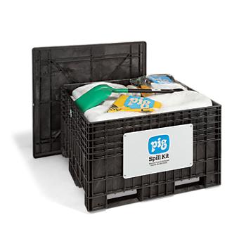 PIG® UV-Resistant Oil-Only Spill Kit in Response Chest