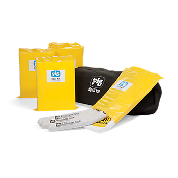 PIG® Oil-Only Economy Spill Kits in Duffel Bag